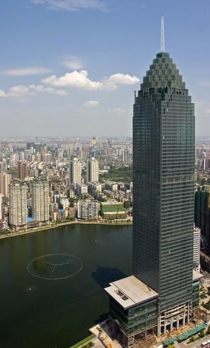 武汉第一高楼建造12年后今日启用|汕头房产|汕头房
