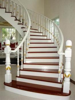 实木楼梯扶手柱子