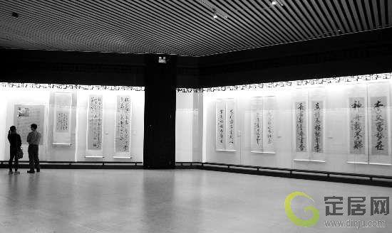 书画展厅.图片