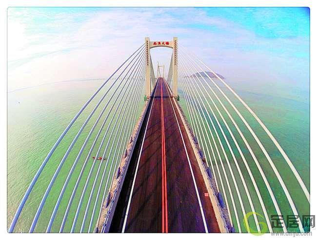 南澳大桥雄姿.黄汉明 摄图片