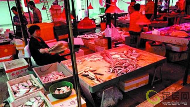 休渔新政影响海产品市场 鱼少价升顾客减少