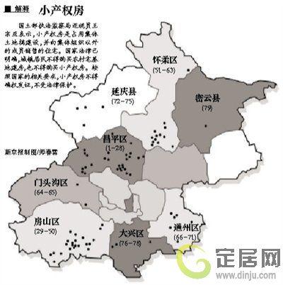 北京清理79处小产权房