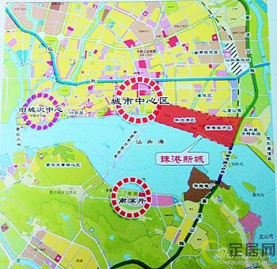 汕头珠池街道地图