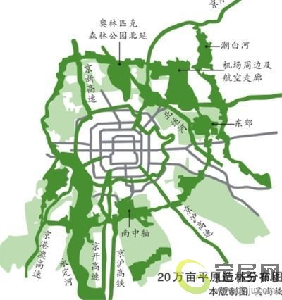 5,植树造林是关键,北京市计划在城市周边的平原地带种植100万亩森林
