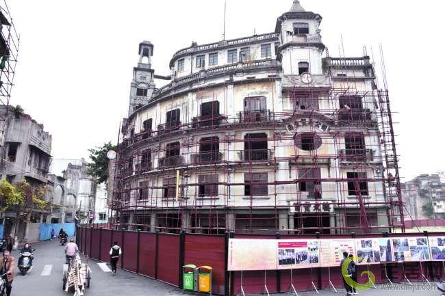 南生百货大楼启动修缮|汕头房产|汕头房地产|汕头